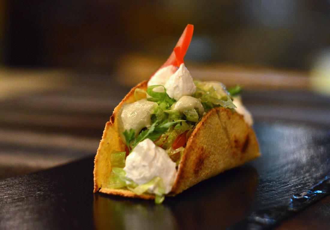 Tacos con Gricia di Cernia Elle et Lui